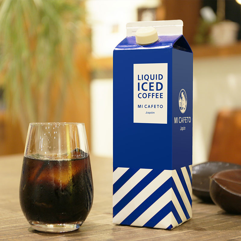 LIQUID ICED COFFEE